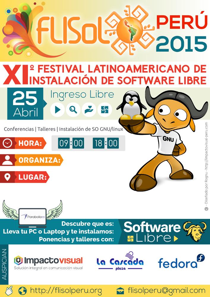 Flisol 2015, Flisol Perú 2015